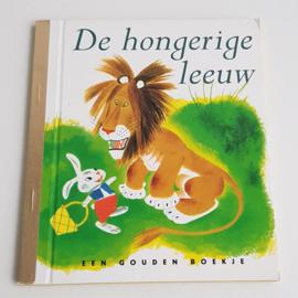 GOUDEN BOEKJE DE HONGERIGE LEEUW