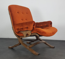 VINTAGE FAUTEUIL INGMAR RELLING