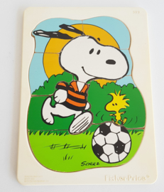 VINTAGE FISHER PRICE PUZZEL , SNOOPY