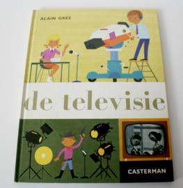 """VINTAGE THEMA BOEK """"DE TELEVISIE"""""""