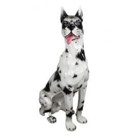 HOLLYWOOD REGENCY BEELD , DEENSE DOG
