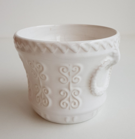 WITTE WEST GERMANY BLOEMPOT