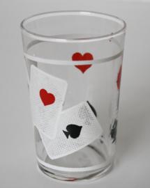 RETRO POKER GLAS