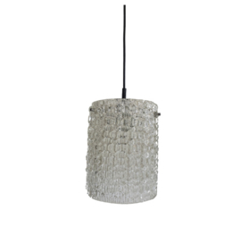 VINTAGE LAMP , ICEGLASS