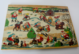 VINTAGE PUZZEL KABOUTERS