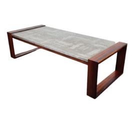 VINTAGE ROSEWOOD COFFEE TABLE , HEINZ LILIENTHAL