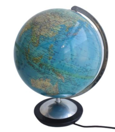 VINTAGE GLOBE , COLUMBUS ORIGINAL GLOBUS