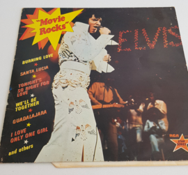 LP ELVIS MOVIE ROCKS