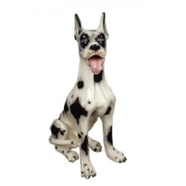 HOLLYWOOD REGENCY  BEELD DEENSE DOG