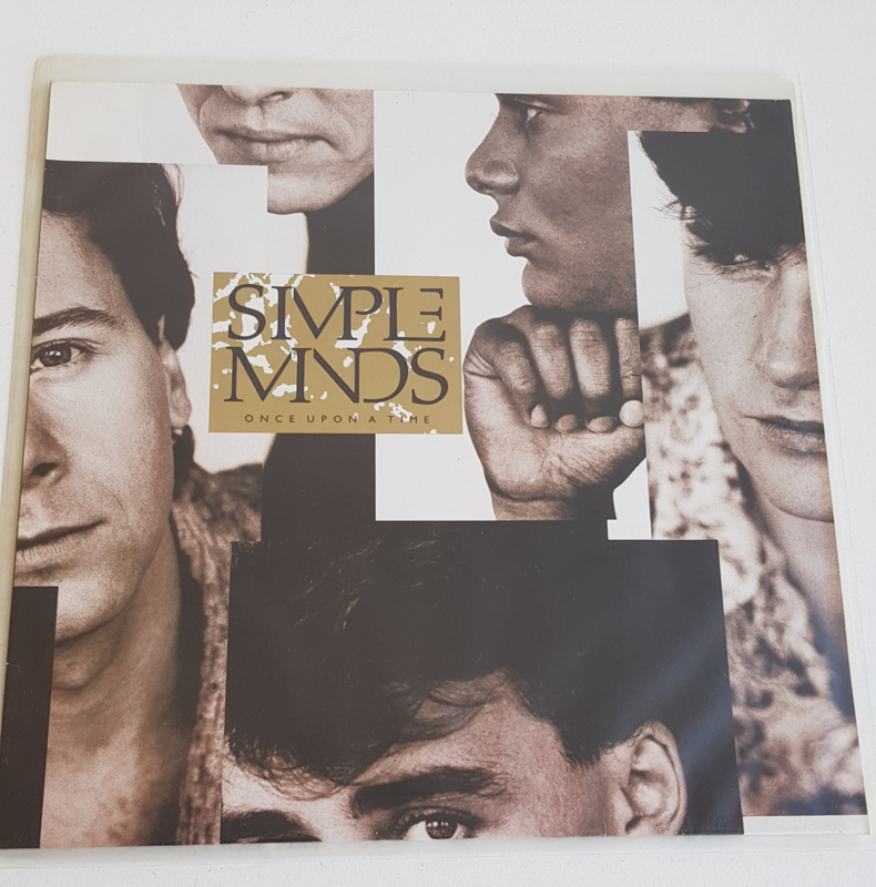 LP SIMPLE MINDS, ONCE UPON A TIME