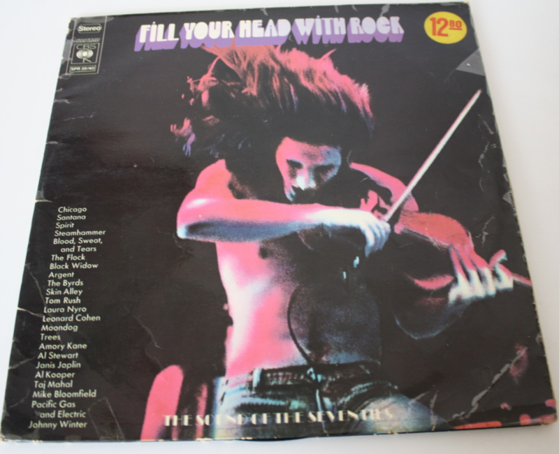 DUBBEL LP FILL YOUR HEAD WITH ROCK