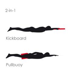 Aquafeel 2-in-1 Pullbuoy & Kickboard