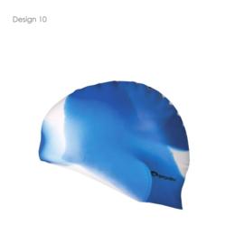 Siliconen Zwemcap Abstract Design