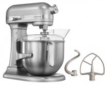 KitchenAid mixer Heavy Duty 5 KSM7591X zilver
