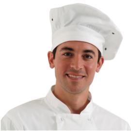 Chefworks koksmuts wit