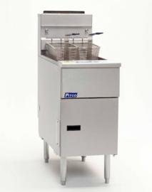 Pitco gas friteuse SG14S - RVS pan