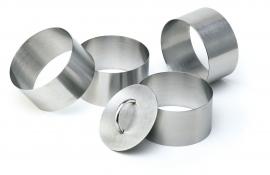 Eissens FSE 5-delige ring vorm set , Ø 6 cm, RVS