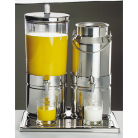 "Sap en melkdispenser Duo ""Mix Top Fresh"", 6 & 5 liter"