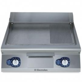 Electrolux gas bakplaat met 1/3 grillplaat