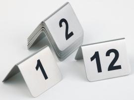 Eissens FSE Tafelnummerbordjes - 1 t/m 12