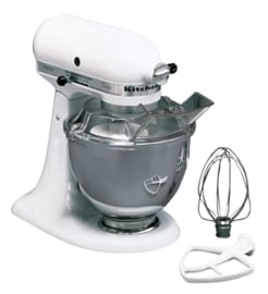 KitchenAid mixer K45 Universeel 5K5SM45EWH wit