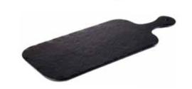 Melamine 'Slate Rock' 40 x 20 cm presenteer plateau
