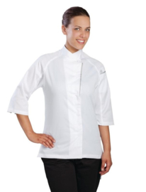 Chefworks dames koksbuis wit of zwart