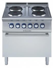 Electrolux elektrisch fornuis 4 kookplaten met oven