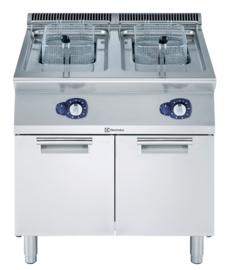 Electrolux gas friteuse 2 x 15 liter