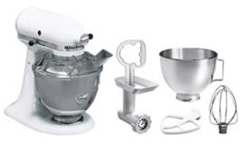KitchenAid mixer K45 Universeel 5K5SM45EWH wit Master-Pakket
