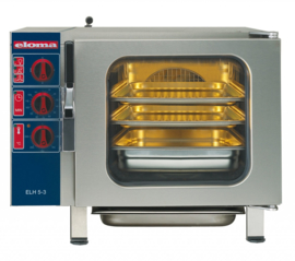 Eloma elektrische hetelucht oven 5 x 2/3 GN
