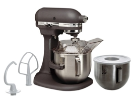 KitchenAid mixer Heavy Dutty 5KPM50EWH grijs