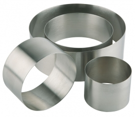 "Eissens FSE ""Mousse"" ring- vorm naadloos, Ø 7 cm - RVS"