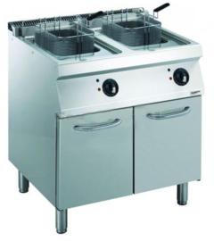 Multinox elektrische friteuse 2 x 14 liter