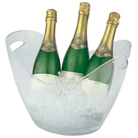 Eissens FSE Wijn-/ champagnekoeler transparant