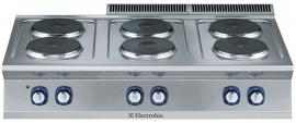 Electrolux elektrisch fornuis 6 kookplaten
