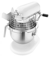 KitchenAid mixer professional 1.3 HP 5KSM7990XEWH wit