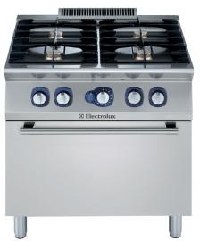 Electrolux gas fornuis met gas oven 700XP. 4 open branders