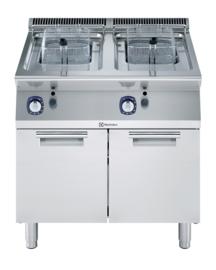 Electrolux gas friteuse 2 x 7 liter