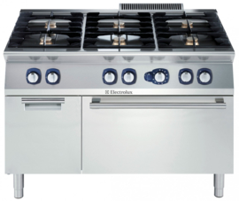 Electrolux gas fornuis met gas oven - 6 open branders