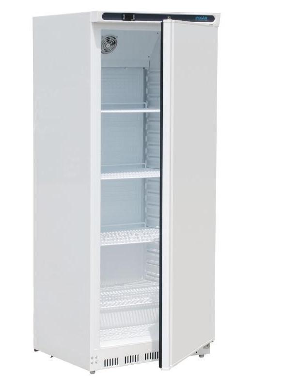 Polar 1 deurs koelkast wit 600 liter