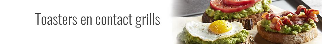 Toasters en contact grills