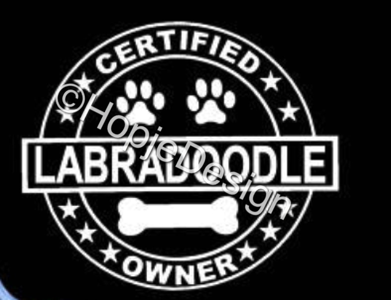 Labradoodle certified owner