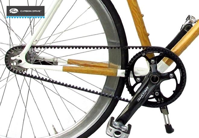 Poelman fiets Gates Carbon Drive