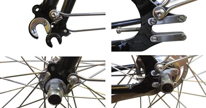 Poelman fiets rvs bescherming