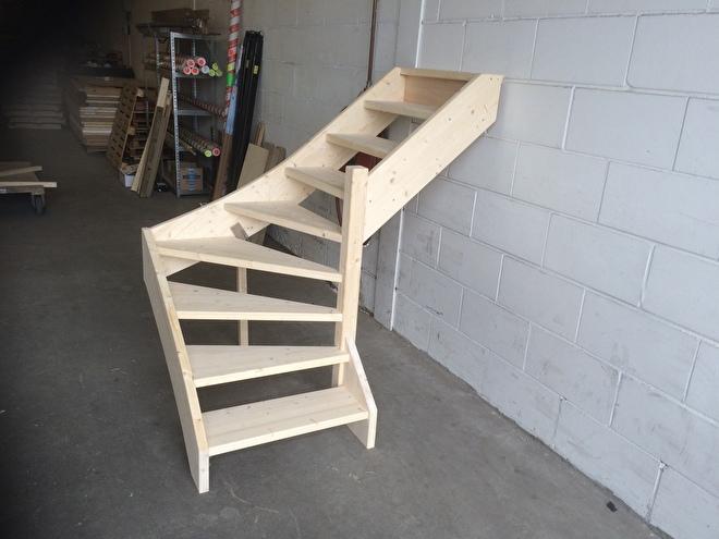 Onderkwart trap