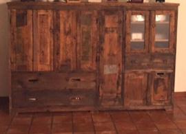 Handgemaakte Kast van Sloophout