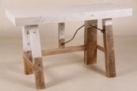 Wandtafel, model werkbank 150 x 60 cm.