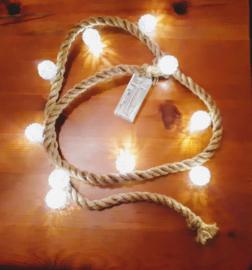 Stoer touw met vrolijke bollen