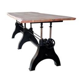 Opdraaibaar Gietijzeren Onderstel XL voor Grote tafel